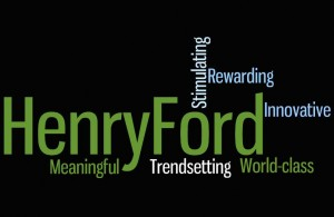 Henry Ford Hospital Word Collage