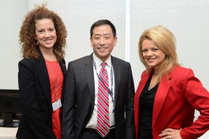 Henry Ford Hospital's Dr. Deirdre Mattina and Dr. Henry Kim, along with WWJ-950AM health reporter Sean Lee, hosted the Women and Heart Disease seminar on Feb. 3 at HFH. More than 60 community members attended.