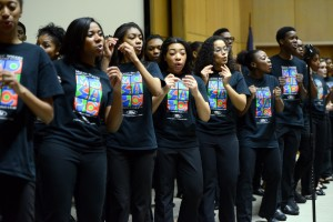 The Mosiac Singers with the Mosiac Youth Theatre of Detroit gave an amazing performance at the event.