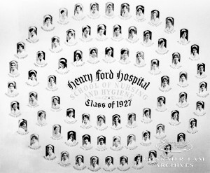 Henry Ford Hospital School of Nursing Class of 1927