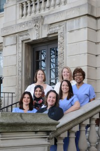 The winners of the 2015 Clara Ford Award for Nursing Excellence, which recognizes registered nurses who embody the vision of Henry Ford Health System and its seven pillars advancing nursing as a profession.