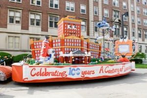 Henry Ford Health System's first-ever float, which will make its debut in America's Thanksgiving Day Parade presented by Art Van.
